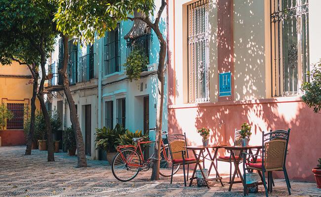 Wijken in Sevilla